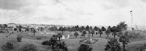 Albert Park 1902 looking south