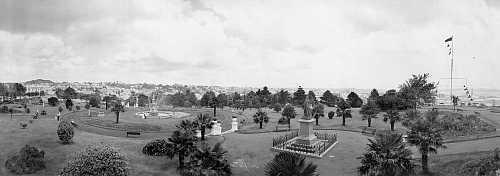 Albert Park 1902 looking south