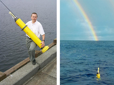 an Argo buoy