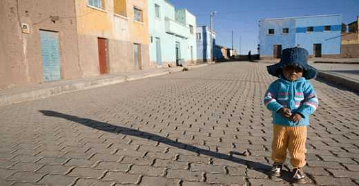 Bolivian street