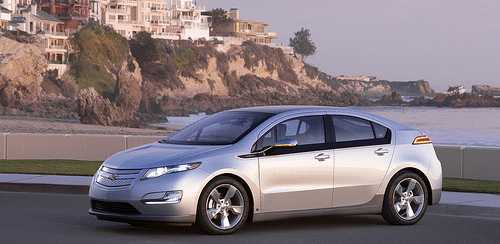 the Chevy Volt electric car