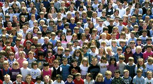 lots of children