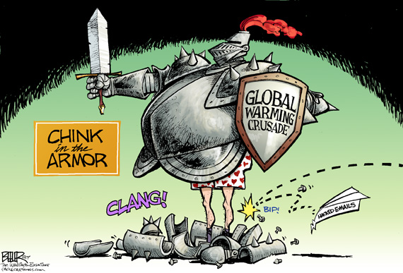 global warming cartoon