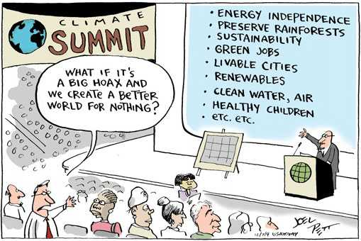 Climate cartoon