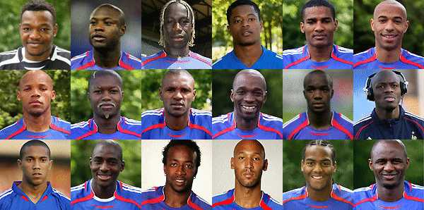 French football team 2008