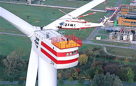 German wind turbine