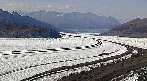 A gigantic glacier