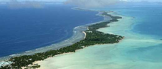 Tarawa atoll, Kiribati.