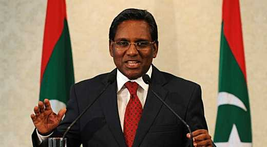 President Waheed of the Maldives