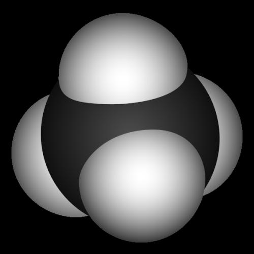 The methane molecule