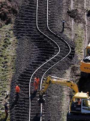 bent rails