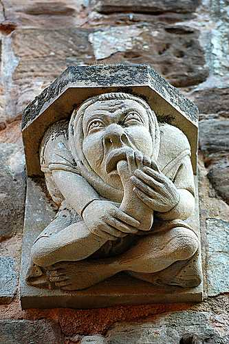 An ancient foot in the mouth