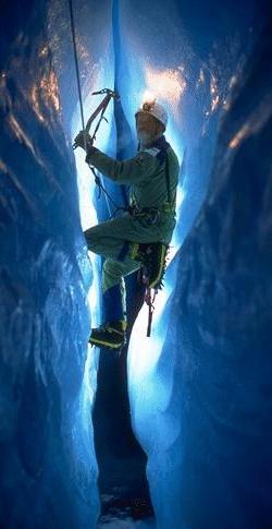 Inside the Greenland ice cap