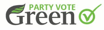 Greens voting logo