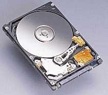 A hard disk drive