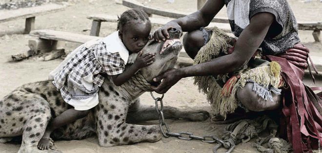 hyena handler of Nigeria