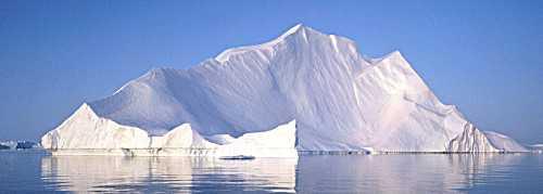 Icebergs are beautiful