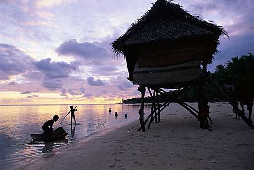 Island of Tabiteuea, Kiribati.