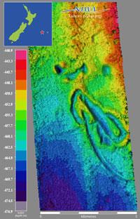NIWA - Chatham iceberg scrapes on seabed