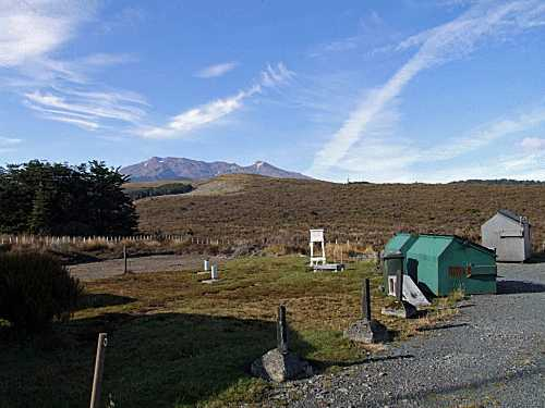 Ruapehu (Chateau) weather station