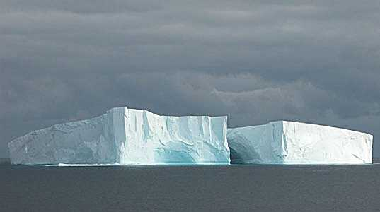 lovely iceberg in boundary conditions