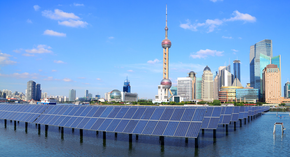 Shanghai solar panels