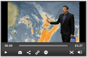 Weather Watch video